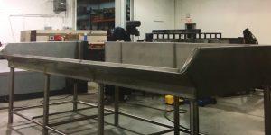 Table fabrication acier inoxydable